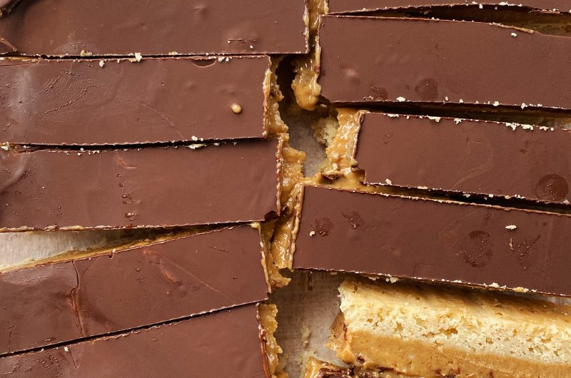 Vegan Caramel Candy Bars