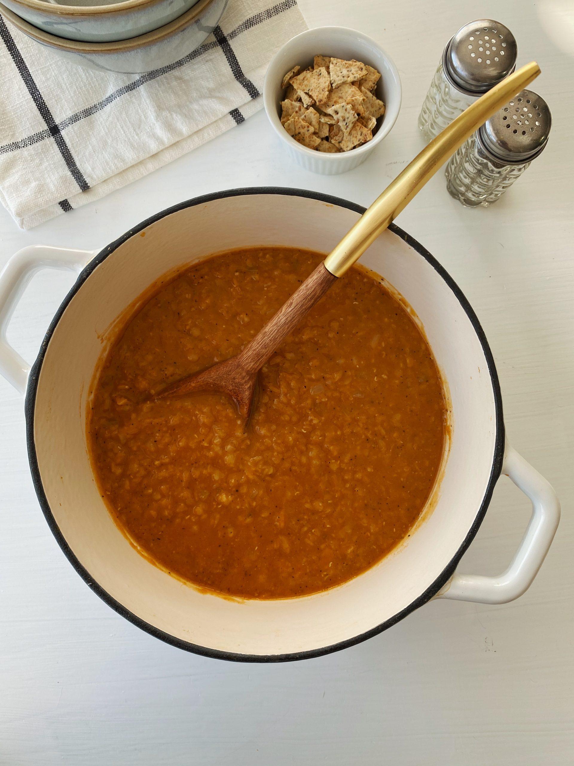 Easy Red Lentil Soup