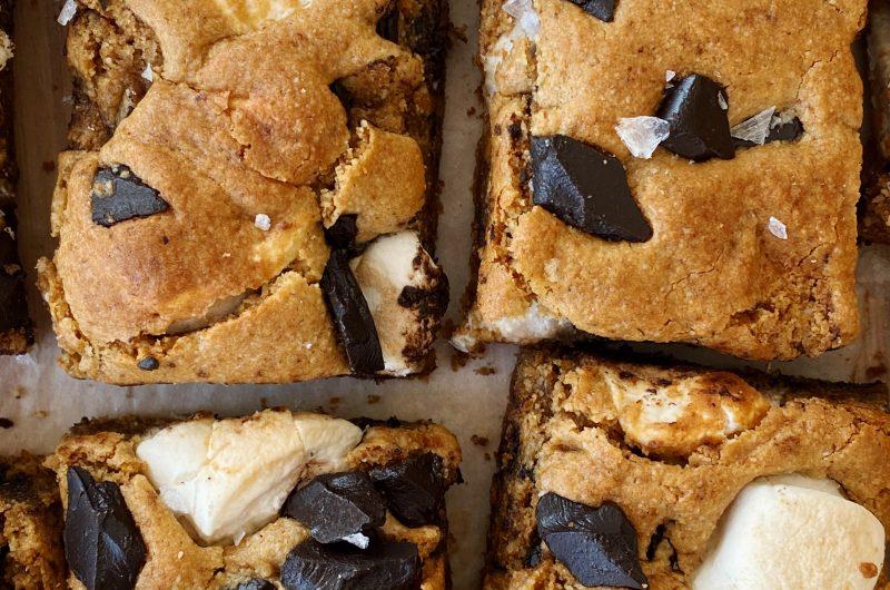 Gluten-free S'mores Blondies