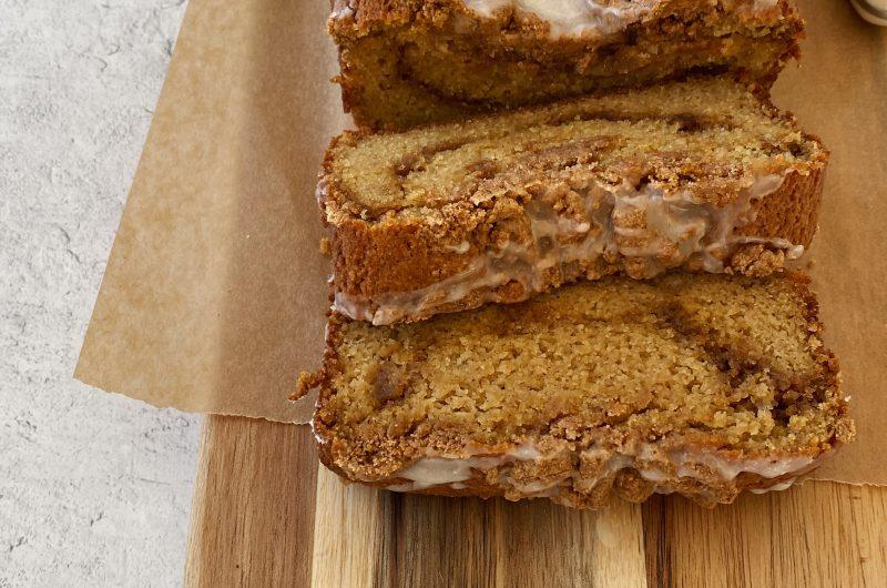 Gluten-free Cinnamon Swirl Crumb Cake