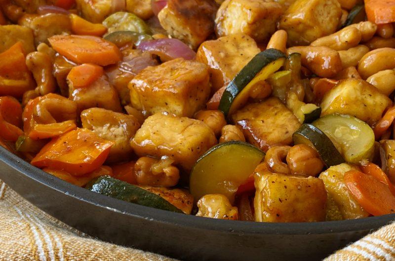 Cashew Tofu Stir-fry