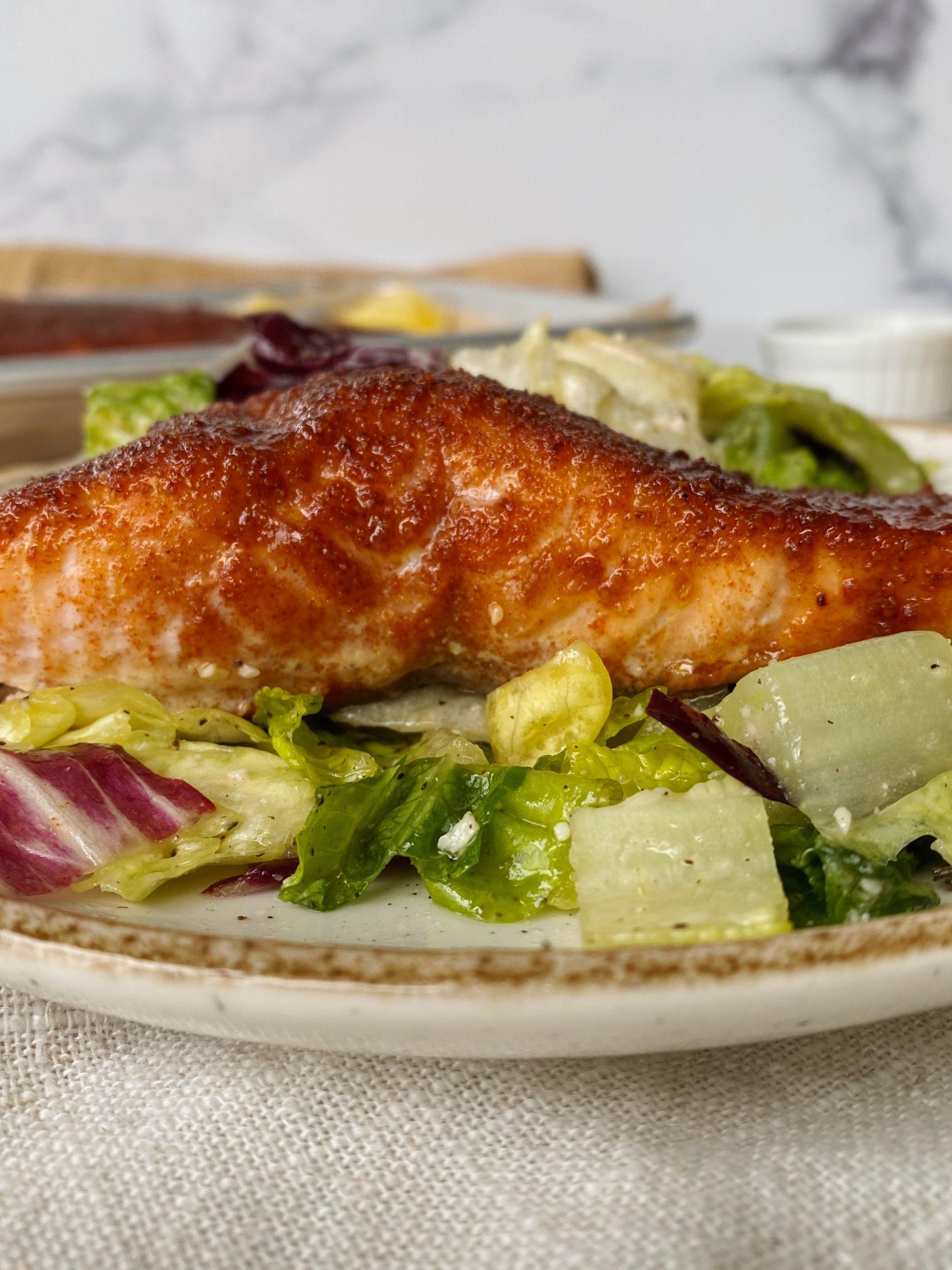 bbq spiced salmon