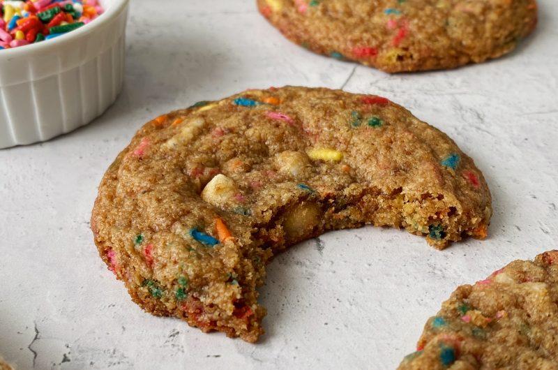 Gluten-free Birthday Cake Cookies