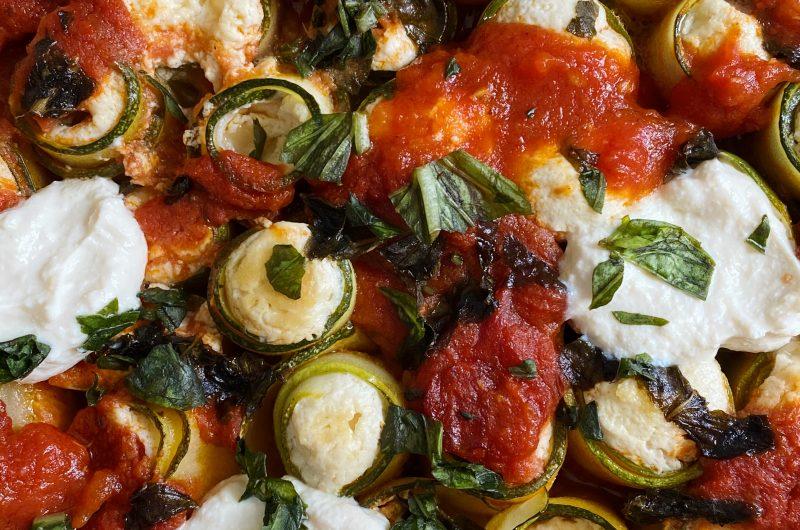 Vegan Zucchini Rollatini