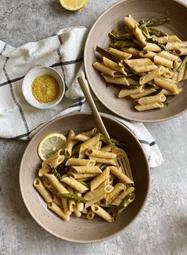 vegan lemon pasta