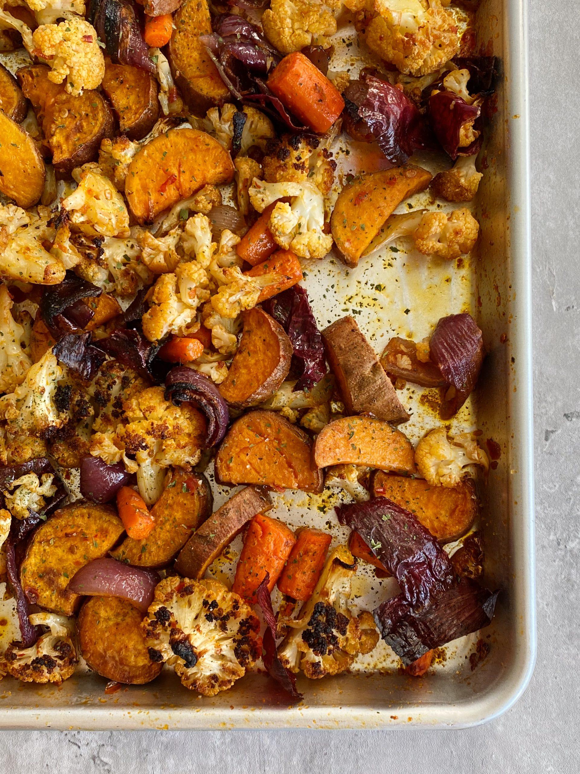 harissa roasted veggies