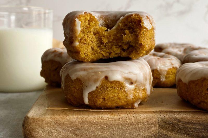 Gluten-free Pumpkin Cake Donuts