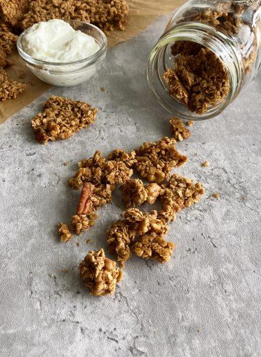 maple cinnamon granola